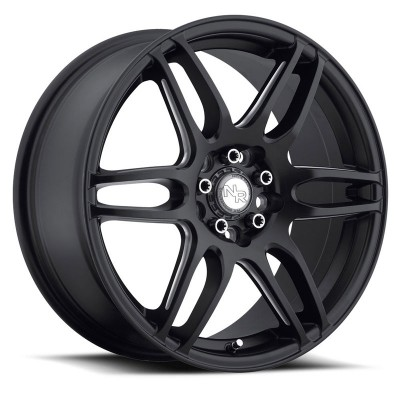 NICHE NR6 M106 Machine Black wheel (17X7.5, 4x100/114.3, 66.1, 45 offset)