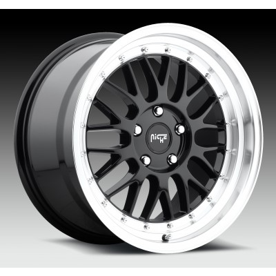 NICHE Projekt M093 Machine Black wheel (18X8.5, 5x112, 66.6, 25 offset)