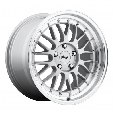 NICHE Projekt M094 Machine Silver wheel (18X8.5, 5x112, 66.6, 25 offset)