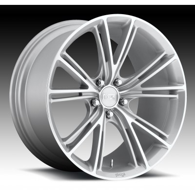 NICHE Ritz M143 Machine Silver wheel (19X8.5, 5x120, 72.6, 35 offset)