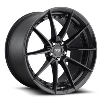 NICHE Sector M196 Matte Black wheel (19X8.5, 5x120, 72.5, 35 offset)