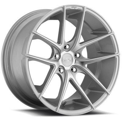 NICHE Targa M131 Machine Silver wheel (20X10, 5x112, 66.6, 55 offset)