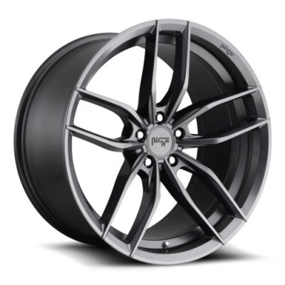 NICHE Vosso M204 Anthracite wheel (17X8, 5x120, 72.5, 40 offset)