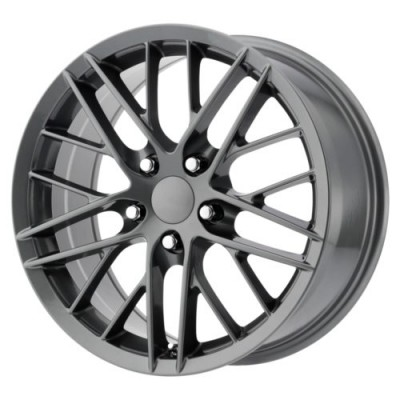 OE Creations 121C Gun Metal wheel (18X8.5, 5x120.65, 70.7, 56 offset)