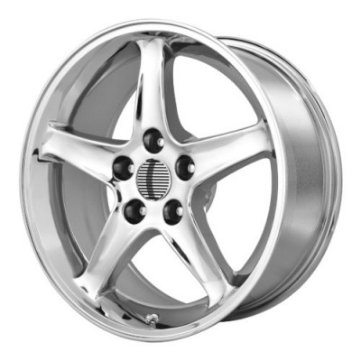 OE Creations PR102 Chrome wheel (17X9, 5x114.3, 64.00, 18 offset)