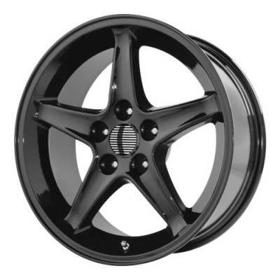 OE Creations PR102 Gloss Black wheel (17X9, 4x108, 64.00, 18 offset)