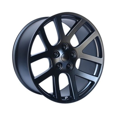 OE Creations PR107 Black wheel (22X9, 5x115, 71.50, 18 offset)