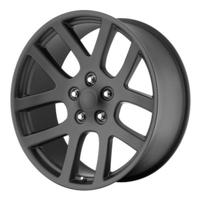 OE Creations PR107 Matte Black wheel (22X9, 5x115, 71.50, 18 offset)