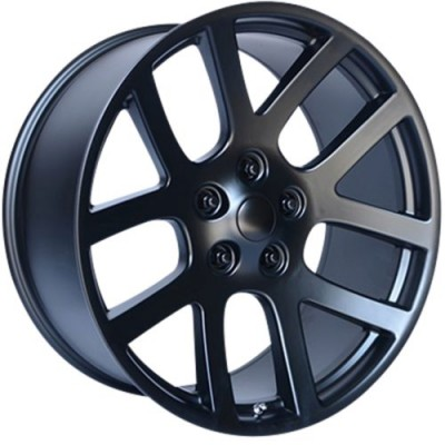 OE Creations PR107 Satin Black wheel (22X10, 5x139.7, 77.80, 25 offset)