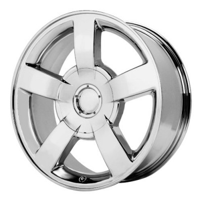 OE Creations PR112 Chrome wheel (22X10, 6x139.7, 78.30, 30 offset)