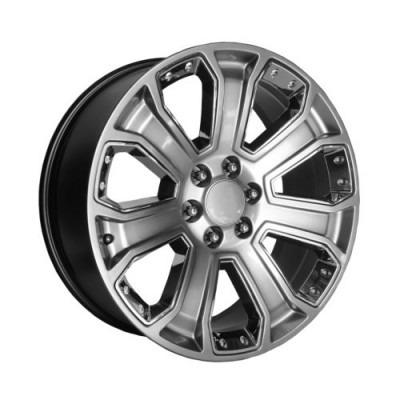 OE Creations PR113 Machine Silver wheel (20X9, 6x139.7, 78.30, 24 offset)