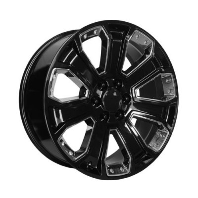 OE Creations PR113 Gloss Black Machine wheel (20X9, 6x139.7, 78.30, 24 offset)
