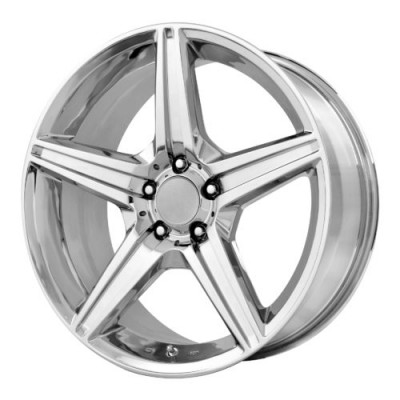 OE Creations PR115 Chrome wheel (19X8.5, 5x112, 66.60, 35 offset)