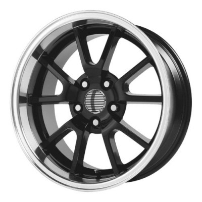 OE Creations PR118 Gloss Black Machine wheel (18X9, 5x114.3, 70.70, 30 offset)