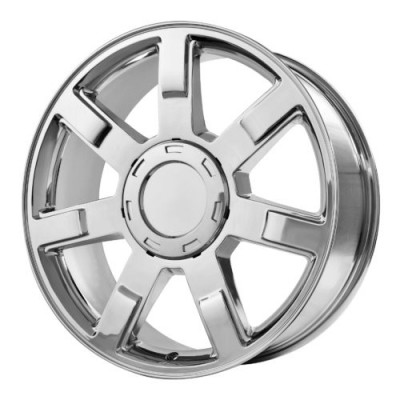 OE Creations PR122 Chrome wheel (22X9, 6x139.7, 78.30, 31 offset)