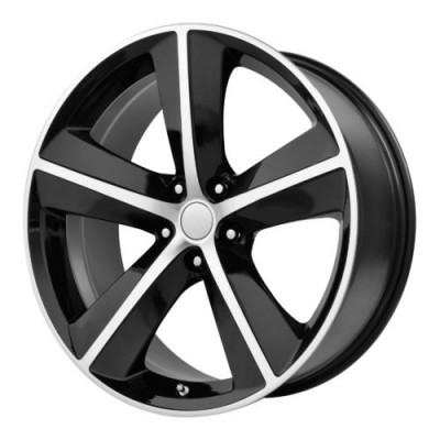 OE Creations PR123 Gloss Black Machine wheel (20X9, 5x115, 71.50, 20 offset)