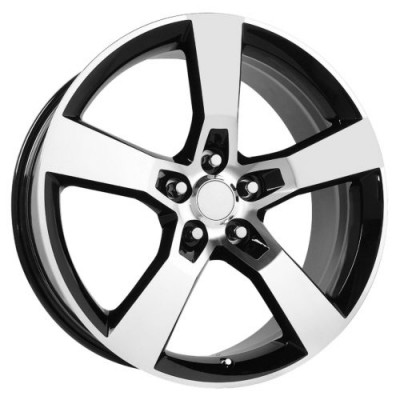 OE Creations PR125 Gloss Black Machine wheel (20X8, 5x120, 67.00, 35 offset)
