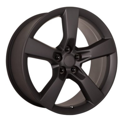 OE Creations PR125 Matte Black wheel (20X8, 5x120, 67.00, 35 offset)