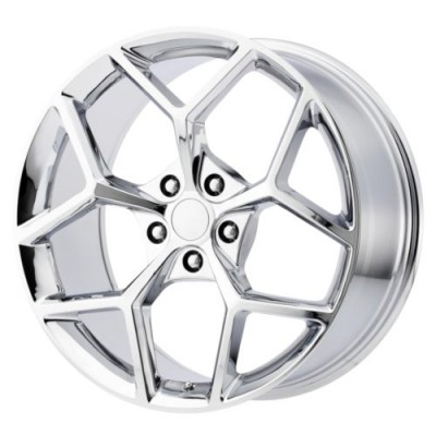OE Creations PR126 Chrome Plated wheel (20X10, 5x120, 67, 23 offset)