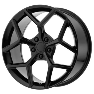 OE Creations PR126 Gloss Black wheel (20X10, 5x120, 67, 35 offset)
