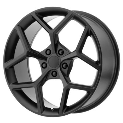 OE Creations PR126 Matte Black wheel (20X11, 5x120, 67, 43 offset)