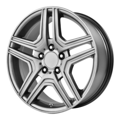 OE Creations PR128 Hyper Silver wheel (17X7.5, 5x112, 66.60, 45 offset)