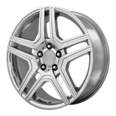 OE Creations PR128 Chrome wheel (17X7.5, 5x112, 66.60, 45 offset)
