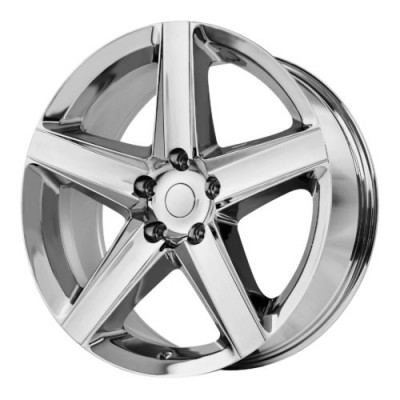 OE Creations PR129 Chrome wheel (20X9, 5x127, 71.50, 34 offset)