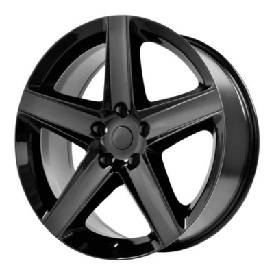 OE Creations PR129 Gloss Black wheel (17X7.5, 5x110, 65.1, 32 offset)