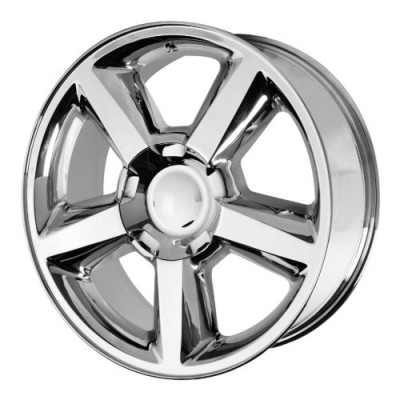 OE Creations PR131 Chrome wheel (20X8.5, 6x139.7, 78.30, 31 offset)