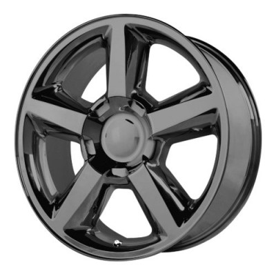 OE Creations PR131 Gloss Black wheel (22X10, 6x139.7, 78.30, 31 offset)