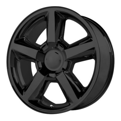 OE Creations PR131 Matte Black wheel (20X8.5, 6x139.7, 78.30, 31 offset)