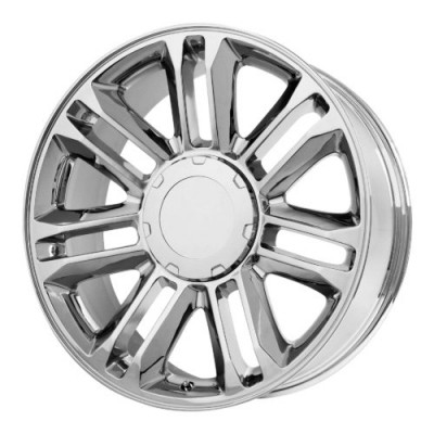 OE Creations PR132 Chrome wheel (22X9, 6x139.7, 78.30, 31 offset)