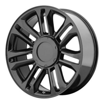 OE Creations PR132 Gloss Black wheel (22X9, 6x139.7, 78.30, 31 offset)