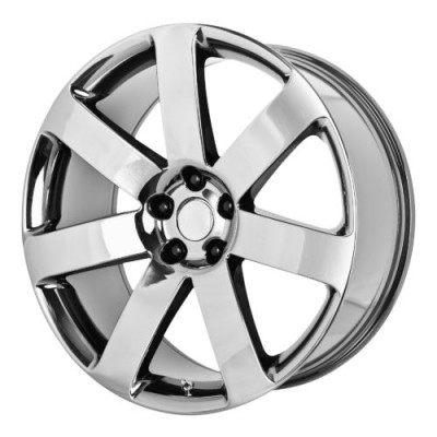 OE Creations PR138 Chrome Black wheel (20X9, 5x115, 71.50, 26 offset)