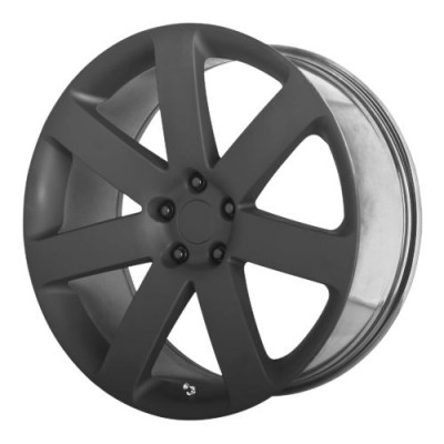 OE Creations PR138 Matte Black wheel (20X9, 5x115, 71.50, 26 offset)