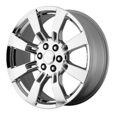 OE Creations PR144 Chrome wheel (24X10, 6x139.7, 78.30, 31 offset)