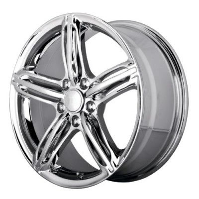 OE Creations PR145 Chrome wheel (18X8, 5x112, 66.60, 32 offset)