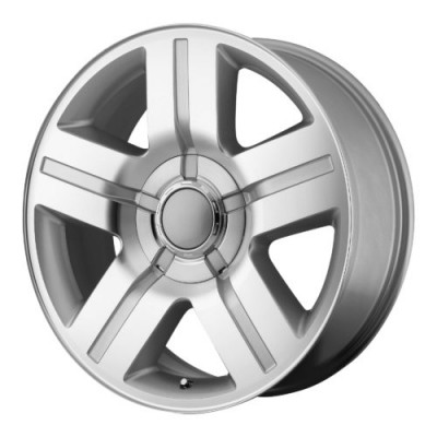 OE Creations PR147 Machine Silver wheel (26X10, 6x139.7, 78.30, 31 offset)