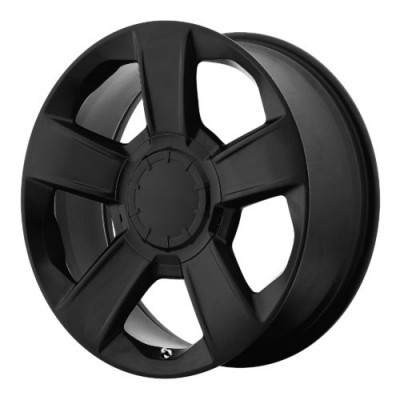 OE Creations PR152 Satin Black wheel (20X9, 6x139.7, 78.30, 27 offset)
