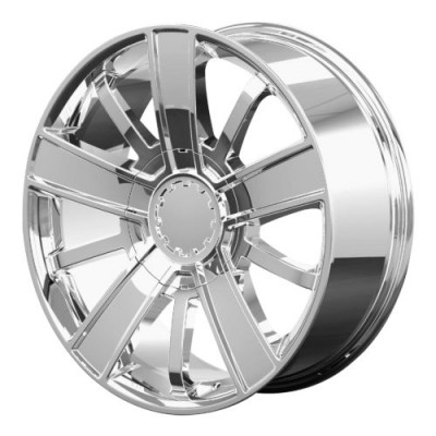 OE Creations PR153 Chrome wheel (20X9, 6x139.7, 78.30, 27 offset)