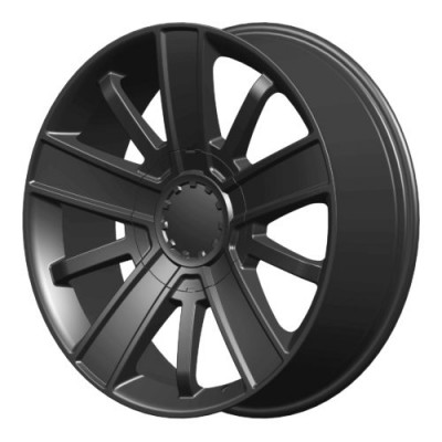 OE Creations PR153 Satin Black wheel (20X9, 6x139.7, 78.30, 27 offset)