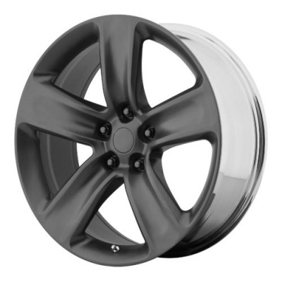 OE Creations PR154 Satin Black wheel (20X9, 5x127, 71.50, 34 offset)