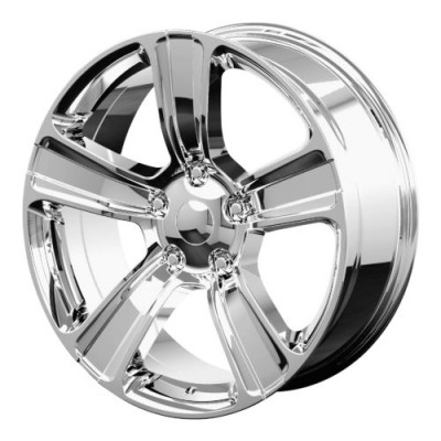 OE Creations PR155 Chrome wheel (20X9, 5x139.7, 77.80, 18 offset)