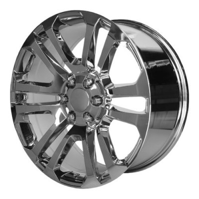 OE Creations PR158 Chrome wheel (20X9, 6x139.7, 78.30, 24 offset)