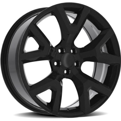 OE Creations PR159 Gloss Black wheel (17X7.5, 5x110, 65.10, 31 offset)