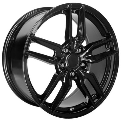 OE Creations PR160 Gloss Black wheel (17X8.5, 5x120.65, 70.30, 54 offset)