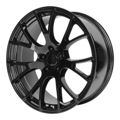 OE Creations PR161 Gloss Black wheel (20X9, 5x115, 71.50, 20 offset)