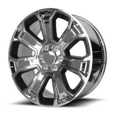 OE Creations PR162 Chrome wheel (22X9, 6x139.7, 78.30, 24 offset)