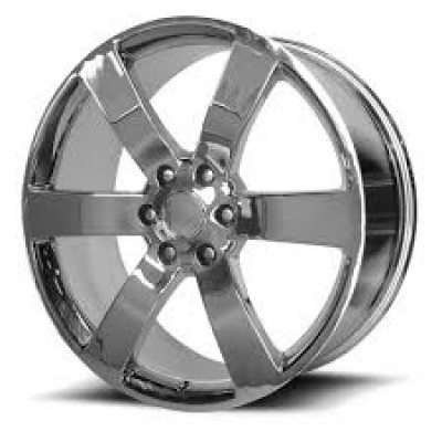 OE Creations PR165 Chrome wheel (20X8, 6x127, 78.30, 45 offset)